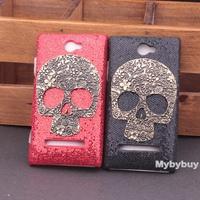 Luxury Spark Skull Bling Hard Case Cover For HTC Windows Phone 8S