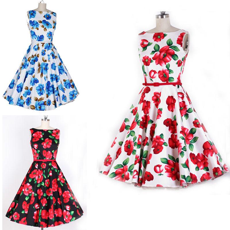 50s style halter neck dress pattern