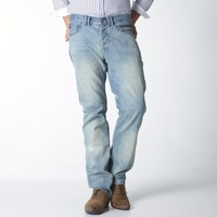 Summer 2013 men's nostalgia straight jeans casual long trousers ye108