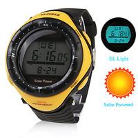 Unisex Solar Powered Multi-Functional Digital Wrist Watches Men's sport watches