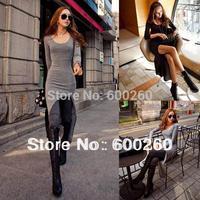 Details about Women Sexy Slim Split Irregular Clubwear Asymmetric High-low Hem Maxi Long Dress free shipping 5461