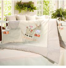 Free Shipping Yarra Farm Baby Bedding Set Crib Netting Bumpers Newborn Baby Products  cartoon bedding pillow(China (Mainland))