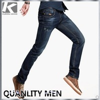 2013 New Arrival Men's Fashion Skinny Long Jeans, 100%Cotton Material Casual Jeans Pants, Free Shipping By China Post