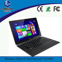 Langma 10.1 Inch Ultrabook Windows 8 PRO Tablet PC Intel Touchscreen (including keyboard)