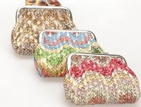 coin purse Knitted fashion women's coin purse small christmas bag