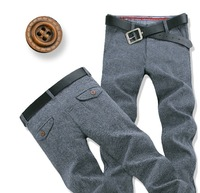 Free Shipping Leisure&Casual  Pants 2014 Brand Cotton Men Winter Pants many size thickening Trousers Straight Leg 988