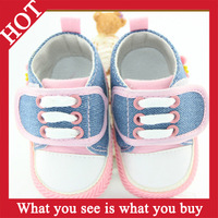 1pair 2014 Red Pink Baby Shoes Cross Infantil Girl Non Slip Sneakers Infantil First Walkers Sapatos -- ZYA112 Free Shipping