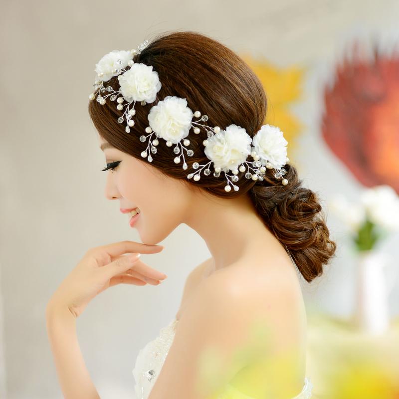 Как сделать свадебный цветок на голову своими руками