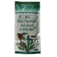 color added Min 48% Mini tropical aquarium fish food