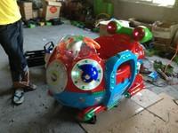Coin operated kiddie rides- submarine, swing machine, English songs