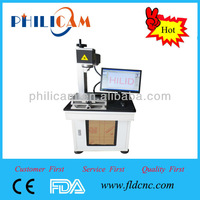High quality metal/nonmetal fiber marking machine in China