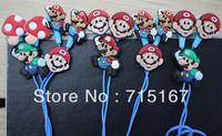 Hot selling 3.5mm In-Ear Classic Games Super Mario earphones Wholesale Earphones 100pcs/lot