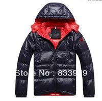 Wholesale Italian Brand Winter Down Jackets for Men Thick Outwear Coat Best Quality Zip Down Men's Coats Size MLXLXXL