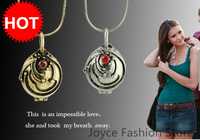 Min order $10,Hot sale!Fashion Fashion Vampire Diaries Elena Nina Verbena Charm Pendant Necklaces Jewelry accessories