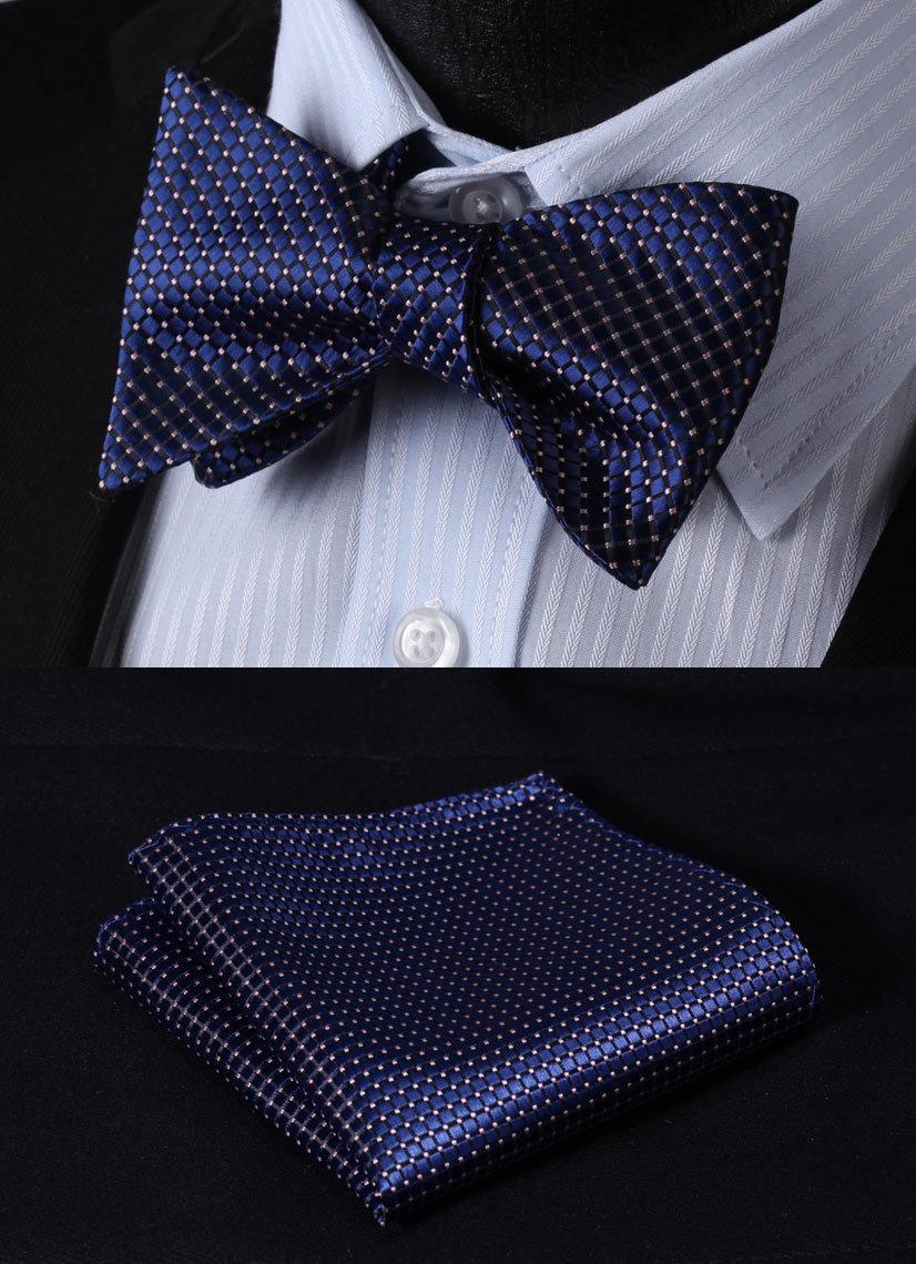 Мужской галстук BC1015V 100% Self