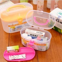 A 1995 free shipping  new multilayer medicine kits portable medicine storage box home first aid kit