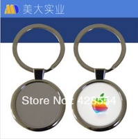 sublimation Blank Metal Keychains for heat transfer, photo Keychains coated photo keychain for DIY