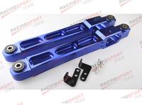 BLUE Rear Aluminium Racing Lower Arm Control for Mitsubishi EVO 1 2 3 4G63