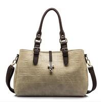 WEIDIPOLO Brand women pu leather handbag 2014 new fashion crocodile shoulder bag cross-body messenger bag