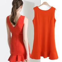 Free Shipping brand 2014 za* Saia shorts women  Dresses Miranda Kerr OL Clothing American apparel Autumn -Summer