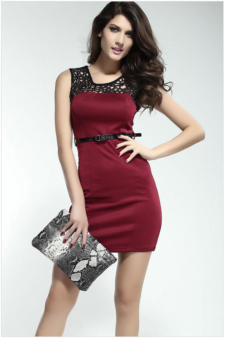 Short Red Dresses For Women