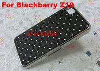 Chrome Hard Case Back Cover Mobile Phone Cover Aluminum Case for  BlackBerry Z10