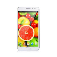 "Note 3 N900W Smart phone MTK6572 Dual Core 1.2GHZ 5.3"" Capacitive Screen Android 4.2 512MB RAM 4GB ROM 3G phone"