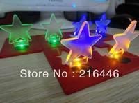 Lovely Sky Star Shape Card Light 50PCS Bulk Sell/Factory Supplier Mini Led Light/Convenient Carry Pocket Light Multifunctional