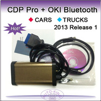 free shipping cdp oki bluetooth cars trucks 2 in 1 2014 release 1 with keygen, tcs cdp pro with oki chip and bluetooth