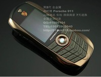Free Shipping 2014 hot sale Best Quality Luxury Gift F977 cell phone ,977 & 911 Sport Car Stainless-Steel mobile Unlocked