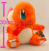 Pokemon 30cm Fire Charmander Export Japan Movies & TV Stuffed Plush Toys Stuffed Animals & Plush