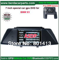 Car Video/radio Player for BMW-X1 with 7 inch touch screen and GPS/Bluetooth/A2dp/PIP/functions