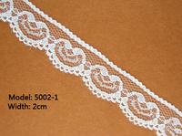 100 yards 2cm Wholesale Designed Wrap Knitting Flower Craft Ivory Lace Trim Cheap