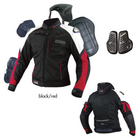 Leather komine2013 gauze titanium alloy automobile race suit motorcycle clothing drop resistance clothing ride jk036