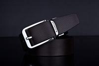 belt men New design Men's Fashion style  genuine leather Belt small hole pattern belt freeshipping