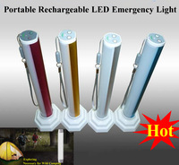 New LED Flashlight Mini Torch, led flashlight tube, led rechargeable emergency light white For Camping,working,fishing,hiking