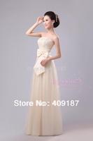 Long Design bridesmaid bridal long wedding/party/meeting/ formal dress
