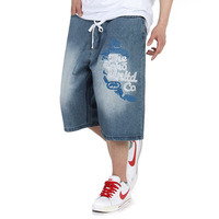 New Famous Brand Short Jeans Men Denim Blue Boy's Hot Short Cotton Beach Pants Fashion Summer Mens Shorts 009-1
