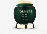 Free ship YOUR LIFE men anti-wrinkle cream and anti aging face cream mouisturizing  skin care firming tightening skin