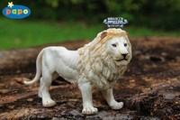 Papo wild animal model toy white