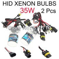 Free Shipping 35w AUTO HID XENON BULBS Xenon Car Lamps Headlights Fog Light 2 Pcs H1 H3 H7 H11 H8 H9 HB3 HB4 9005 9006