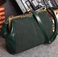 HOT SELL British Retro Messenger Bags Casual Fashion Women Matte Leather Handbags Vintage Shoulder Bag B314