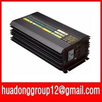 5000W Watts Peak Real pure sine wave 2500W 2500 Watts Power Inverter 12V DC to 220V AC 2500w sine wave + Free shipping