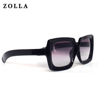 Zolla female sunglasses glasses sunglasses the trend of fashion glasses anti-uv