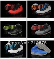 Free Shipping Wholesale Famous Trainers X Retro 10 GS Fusion  Men's Sports Basketball Shoes Top Quality !