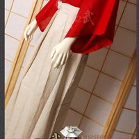 Top Quality White Hakama Kendo Iaido Aikido Flax Martial Arts Uniform Sportswear Kimono Dobok Free Shipping