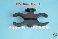 200PCS/LOT High Quality Plastic Mount Flashlight and laser Universal Gun mount
