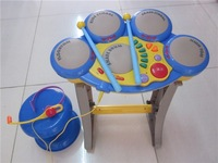 Polaroid 1005a multifunctional music electronic drum toy drum beat drum child musical instrument toy