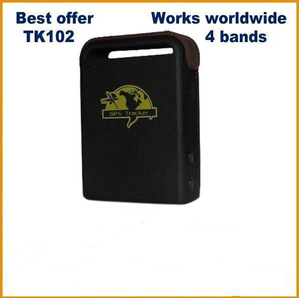 Micro Gps tracker TK102 For dog cat sheep cow animal,as good as Xexun TK102 Gps tracker(China (Mainland))