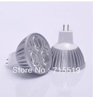 Dhl fedex ems ups Free shipping  mr16  9W CREE High power LED Spot Lights warm cold white  Bulbs  lamps 50PCS